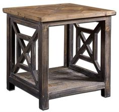 Uttermost Spiro, End Table