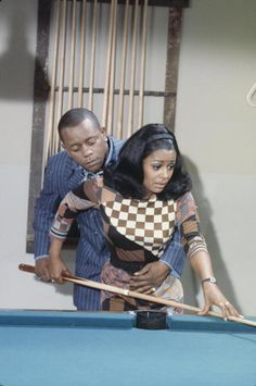 "Flip Wilson and Gail Fisher guest starring on an episode of ""Love, American Style"" called ""Love and the Hustler."" This show aired one month before I was born, on September 29, 1969, but I definitely remember watching ""Love, American Style"" in repeats. I wonder if it still holds up today? Hmmm….  I'm sure most of you know the iconic comedian Flip Wilson, but Gail Fisher was an actress best known for her Emmy-winning role as Peggy Fair, secretary to"