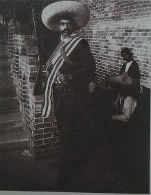 Adelita               Villa en la silla presidencial con Zapata a su lado.        Emiliano Zapata         Soldadera, c. 1915      Fortino...