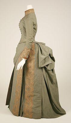 Wedding ensemble Designer: Herman Rossberg (American, active 1880s) Date: 1887 Culture: American Medium: wool