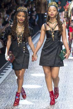Неделя моды в Милане: Dolce & Gabbana осень 2017 (Интернет-журнал ETODAY)