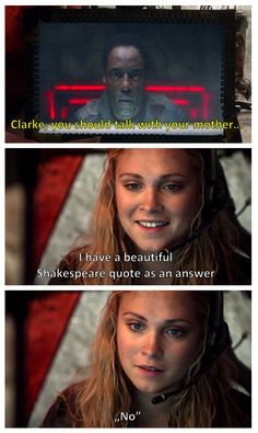 Clarke Griffin and Thelonius Jaha || The 100 season 1 || Eliza Taylor and Isiah Washington