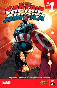 All-New Captain America #1 comic cover