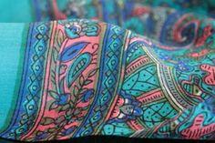 7465712ad157 foulard indien soie Cachemire, Inde, Femme De Couleur, Foulard Carré, Mode  Indienne