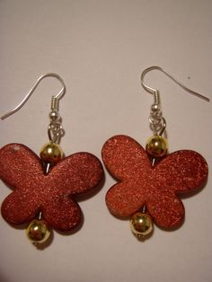 red butterflies perfect for christmas!