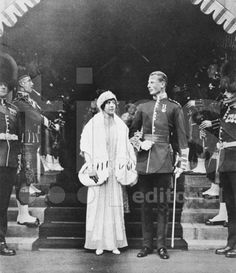 Princess Maud of Fife (daughter of Louise, Princess Royal) to Lord Carnegie (later 11th Earl of Southesk), November 13, 1923.