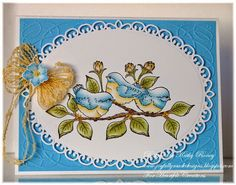 Joyfully Made Designs - Using the Birds and Blooms Collection of stamps and dies from Heartfelt Creations