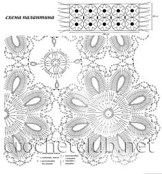 "Photo from album ""feb 1 15 on Yandex. Crochet Motif, Crochet Shawl, Crochet Doilies, Crochet Flowers, Knit Crochet, Chic Wedding Dresses, Crochet Beaded Bracelets, Online Diary, Scrappy Quilts"