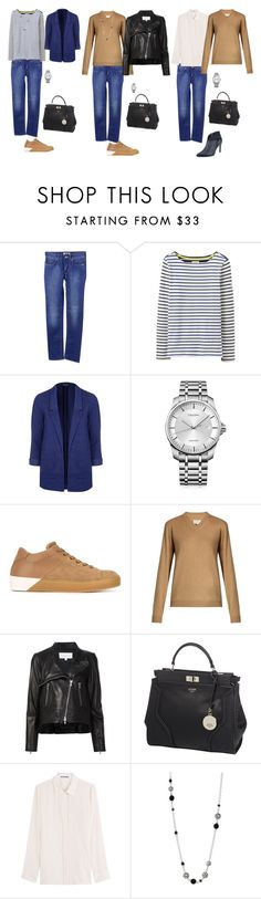 """""""the base wardrobe"""" by yelena-lorich ❤ liked on Polyvore featuring Acne Studios, Joules, Topshop, Calvin Klein, LEATHER CROWN, Maison Margiela, Veronica Beard, GUESS, Jil Sander and John Hardy"""