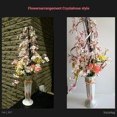 【ateliercrystalrosekeiko】さんのInstagramをピンしています。 《おはようございます。某マンション様の受付に季節のお花を飾らせて頂いてます。 2月からは桜。 #桜 #ディスプレイアレンジメント #草月流いけばな #生花アレンジメント #立川フラワーアレンジメントレッスン #アトリエクリスタルローズ #いけこみ》