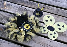 Sweet Honey Bee Tutu Dress Set by LittlePumpkinLove, $30.00