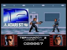 Terminator II : Judgment Day - Atari ST (1991)