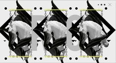 BLUP x BLACK COLLECTION by STUDIO BLUP, via Behance