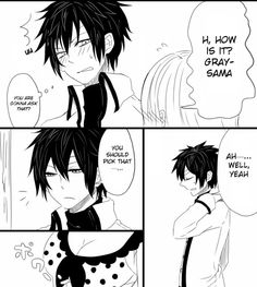 Nalu and Gruvia comic strip part 3