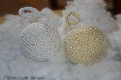 Ручная работа Елочные шары