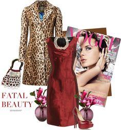 """Barbara Tfank Dress"" by fashionmonkey1 ❤ liked on Polyvore"