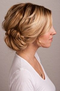 low updo - hair-sublime.com