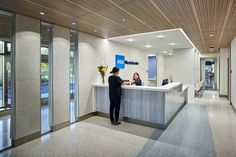 OUTPATIENT CENTER White Plains, NY The Mission of Hospital for Special Surgery is to provide the highest quality patient care, improve mobility, and enhance the quality of life for all, and to advance the science of orthopedic surgery, rheumatology, and their related disciplines through research and education. #healthcare #design Work Office Design, Medical Office Design, Modern Office Design, Healthcare Design, Modern Offices, Office Designs, Design Offices, Clinic Interior Design, Interior Design Portfolios