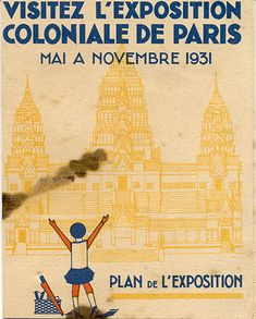 Exposition coloniale Paris #1931