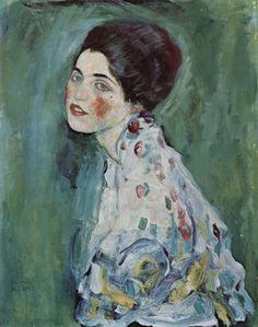 Portrait einer Dame, 1916~1917 - Gustav Klimt