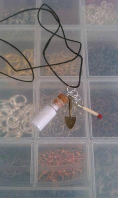 SUPERNATURAL  Salt & Burn Necklace. I WANT!!!!