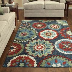 Better Homes and Gardens Bayonne Area Rugs or Runner Collection, Multicolor