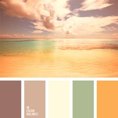 Color Palette by proteamundi Warm Colour Palette, Color Palate, Warm Color Schemes, Warm Colours, Bedroom Colour Schemes Warm, Ocean Color Palette, Pastel Palette, Deco Pastel, Beach Color