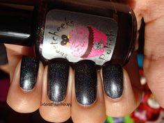 Black Ice - www.intensepolishtherapy.ca Swatch, Shots, Nail Polish, Nail Art, Ice, Nails, Beauty, Black, Finger Nails