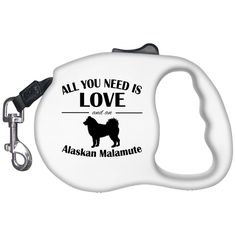All You Need Is Love And An Alaskan Malamute Retractable Dog Leashes