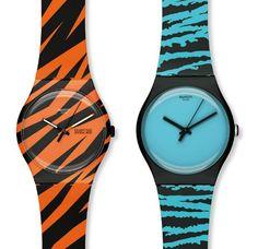 Swatch Watches - Wonder Zebra and Wonder Tube