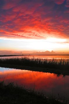 Sunset at ARM LOX NWR