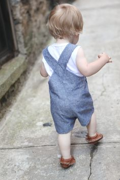 TODDLER OVERALLS – VINTAGE SIMPLICITY 6948 | True Bias