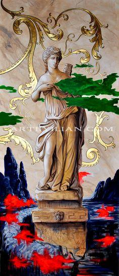 The Goddess DIANA #diana #goddess #dea Web Gallery, Painting Gallery, Centaur, Artemis, Goddesses, Versace, Diana, Princess Zelda, Moon