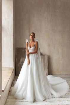 Beaded Wedding Gowns, Dream Wedding Dresses, Bridal Dresses, Elegant Wedding Dress, Bride Look, Bridal Collection, Dream Dress, Beautiful Bride, Wedding Bride