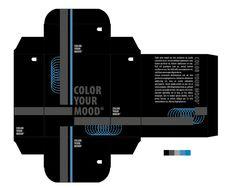 """Nieuwsgierig: nr. 1 van de 3 beste kleurpaletten mits aanpassingen. Bij dit kleurenpalet hen ik voor de grote vlakken extra donkere kleuren gekozen om het contrast met de nieuwsgierigheid nog meer te benadrukken. De lichte blauwe delen geven de nieuwsgierigheid weer. """"ze"""" komen kijken en trachten meer te weten te komen over de enorm donkere kleuren"""