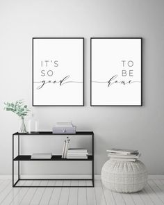 Its So Good To Be Home Printable Sign Set Bedroom Quote Decor Living Room Wall Art Prints Insta Wall Decor Living Room Art Bedroom decor good Home insta living Printable Prints Quote room Set Sign Wall Living Room Art, Interior Design Living Room, Living Room Prints, Living Room Quotes, Living Room Wall Ideas, Bedroom Prints, Living Room Wall Decor Canvas, Living Room Decor Simple, Living Room Picture Ideas