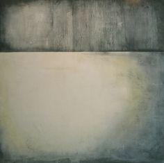 "Monterrey1-2010-48""x48"" encaustic, pigment stick, pastels on panel. Kandy Lozano."