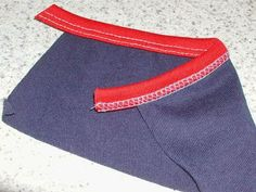 Stitches and Seams: Coverstitch: Adjusting a Binder