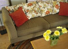 Replace the Stuffing to Fix a Saggy Sofa