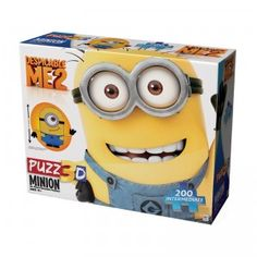 With the Puzz3D Despicable Me Minion Made Stuart the Minion, kids can build their own three-dimensional Minion out of 91 foam-backed puzzle pieces.