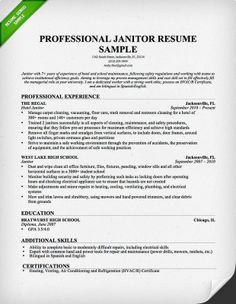sample janitor resume retail sales associate resume samples free retail duties resume professional janitor resume sample singlepageresume janitor resume