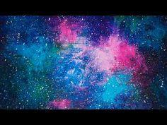 Acrylic Speed Painting   Galaxy V - YouTube