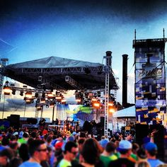 BUKU music festival in New Orleans. AVICII up next! #music #festival