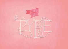 Adorable Valentine's Day Cards for Typography Geeks