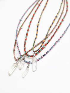 Arrow Divine Rio Thread Necklace at Free People Clothing Boutique
