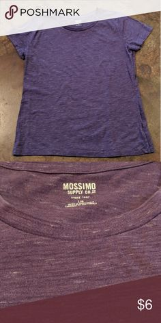 low priced 9f197 872b5 Mossimo top Mossimo cotton polyester short sleeve round neck purple tee  size large. Mossimo Supply Co. Tops Tees - Short Sleeve
