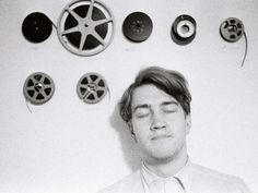 David Lynch around 1966, when he was an art student at the PAFA