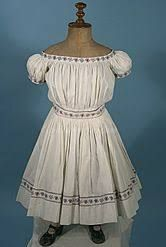 Children's dresses of the Civil war era were made originally with extra fabric left at the waistline so that the dress could be lengthened. Little Dresses, Girls Dresses, Victorian Fashion, Vintage Fashion, Beautiful Outfits, Beautiful Clothes, Historical Clothing, Kids Outfits, Folk Festival
