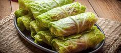 Wild Rice Cabbage Rolls