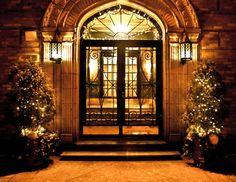 Pretty entrance